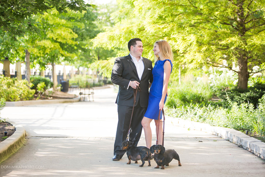 Chicago Riverwest Engagement photography