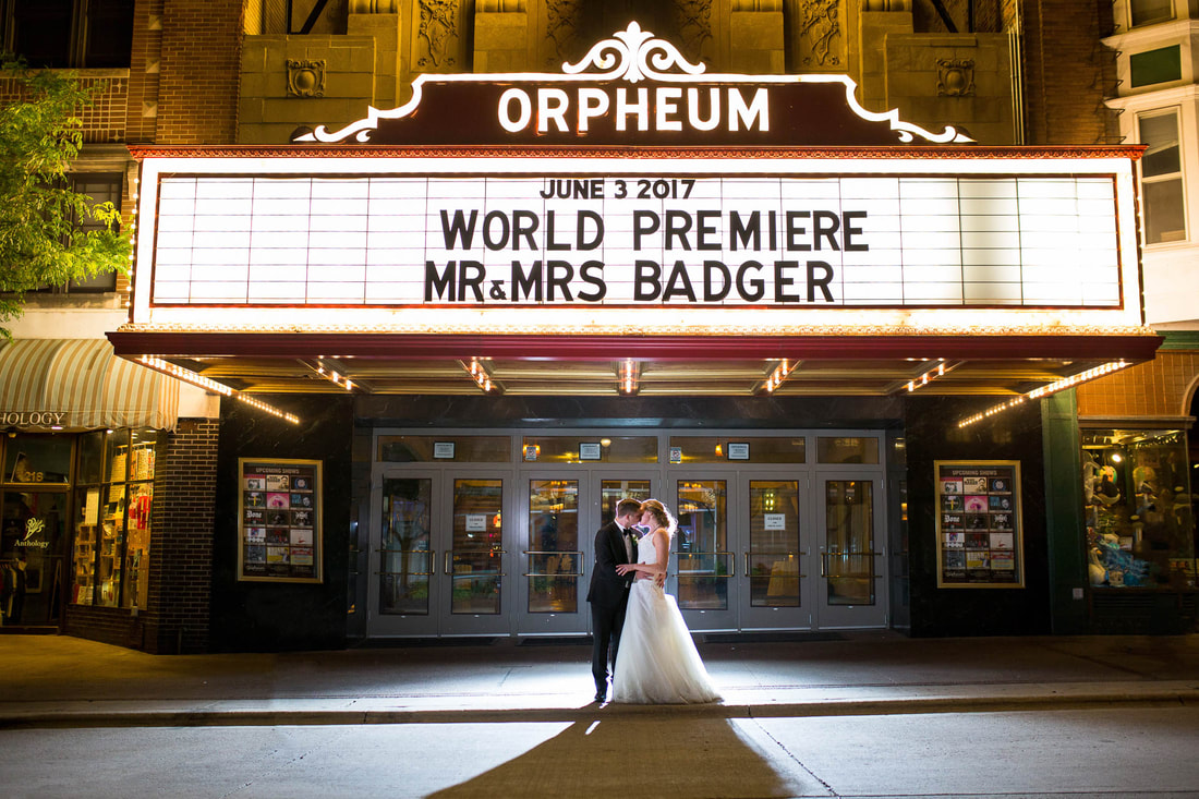 Orpheum Wedding Madison photos